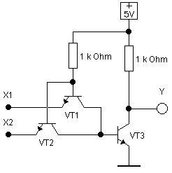 Транзисторно-транзисторная логика (ТТЛ)